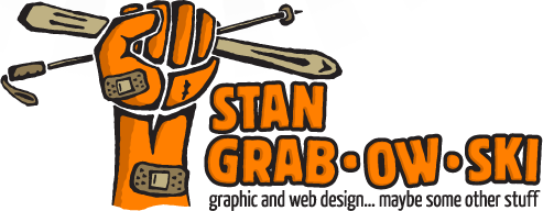 Stan Grabowski. graphic and web design... maybe some other stuff